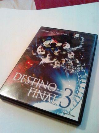 Destino final 3 DVD