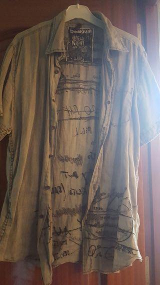 Camisa desigual chico