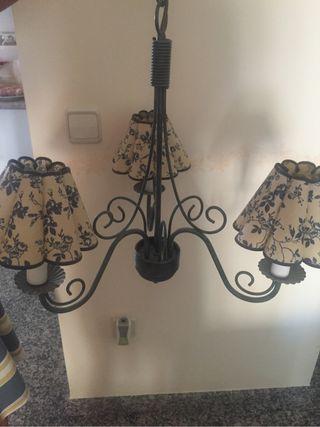 Lámpara de techo y de mesilla