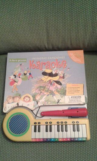 Libro piano karaoke