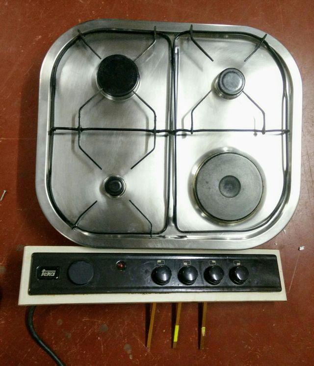 Cocina gas natural y electrica teka