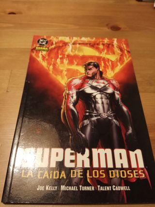 Comic Superman la caida de los dioses