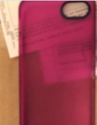 Funda carcasa iPhone 5 rosa