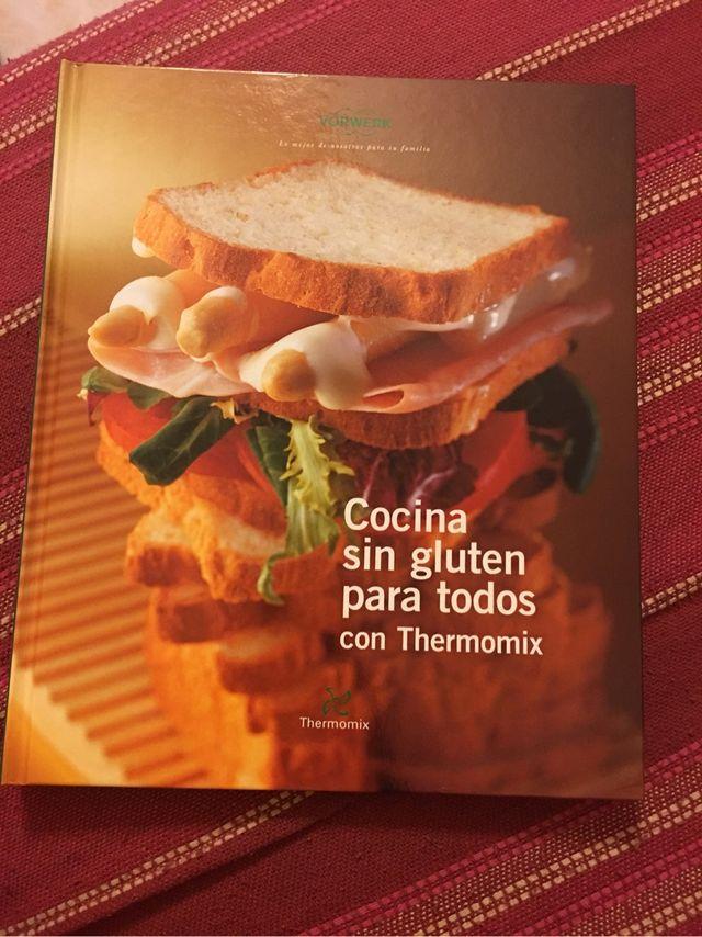 Libro Thermomix: cocina sin gluten para todos.