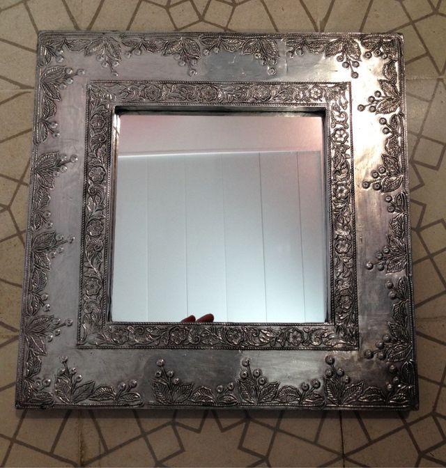 Espejos marco plateados de segunda mano por 40 en - Espejos marco plateado ...