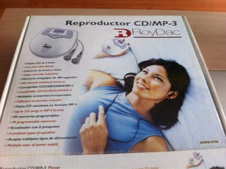 Reproductor CD MP3