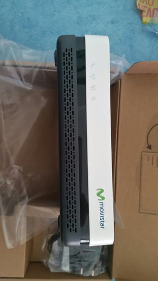 Router integrado fibra optica