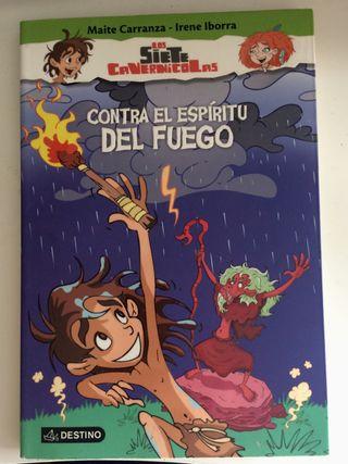 "Libro infantil ""Los Siete Cavernícolas"""