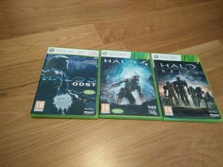 Pack halo 3,4 y reach
