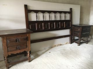 Habitacion antigua madera castellana