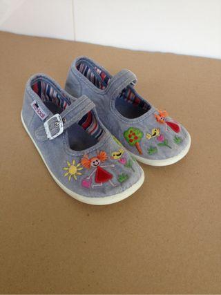 Zapatillas niña Vul-ladi núm 26