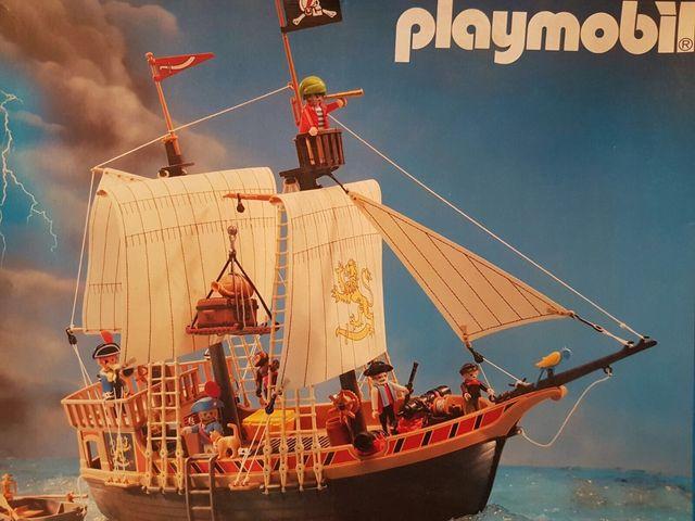 Barco pirata playmobil de segunda mano por 120 en madrid for Barco pirata playmobil
