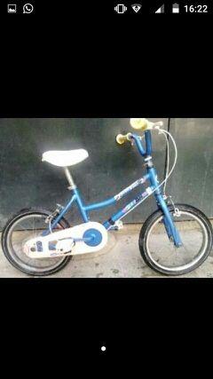 Bicicleta bh azul