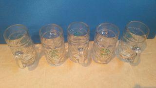 jarras de cristal de 1L