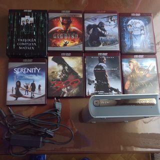 Lector Hd-dvd Para Xbox360 Y Peliculas