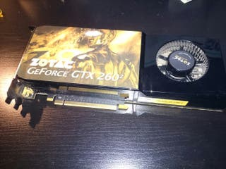 Gráfica Zotac GTX260