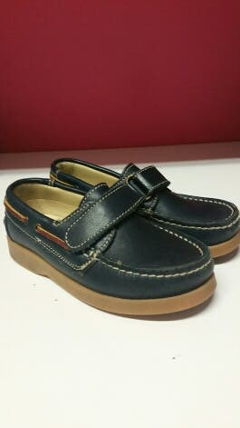 Zapato piel niño