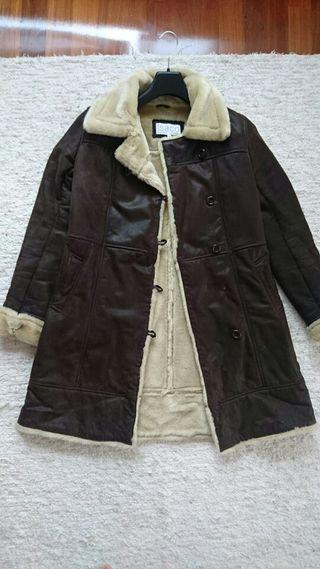 Abrigo isaco&kawa de cuero