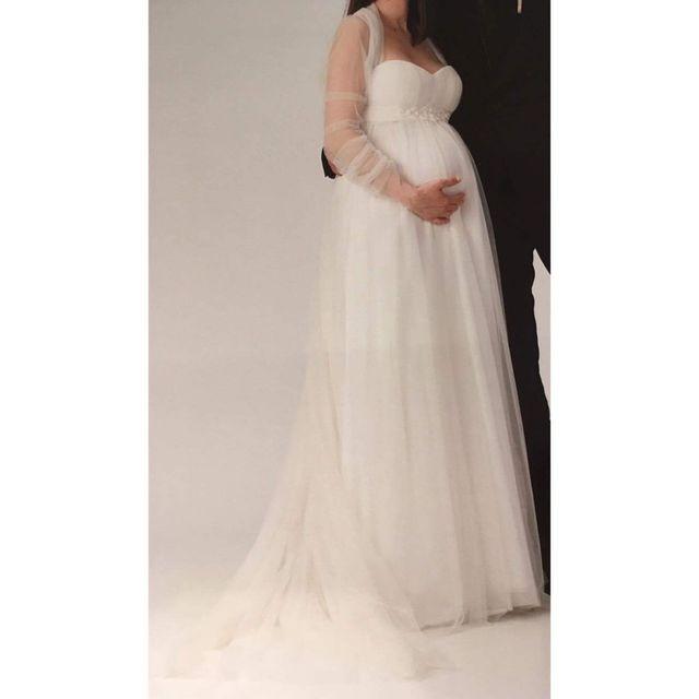 vestido novia embarazada pronovias de segunda mano por 400 € en