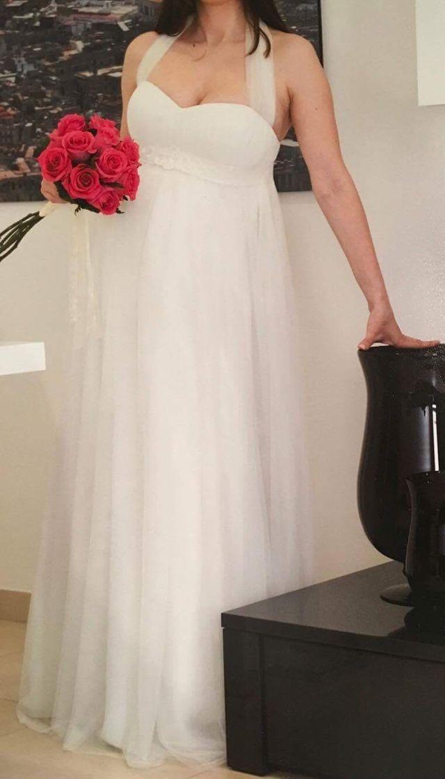 Vestido novia embarazada PRONOVIAS de segunda mano por 400 ...