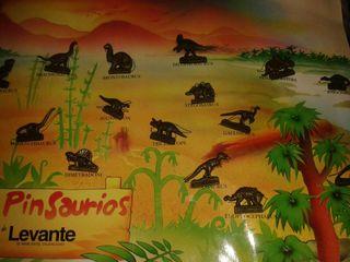 Coleccion Album Dinosaurius pin