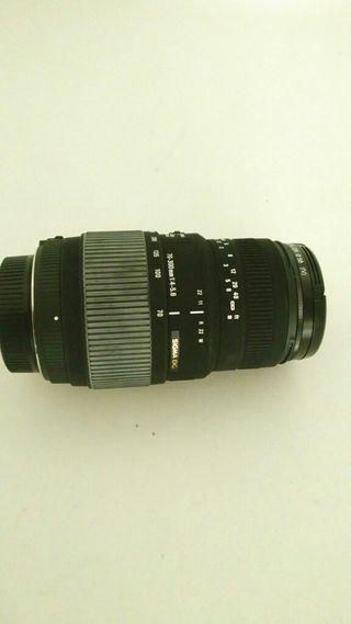 Objetivo Sigma DG 70-300