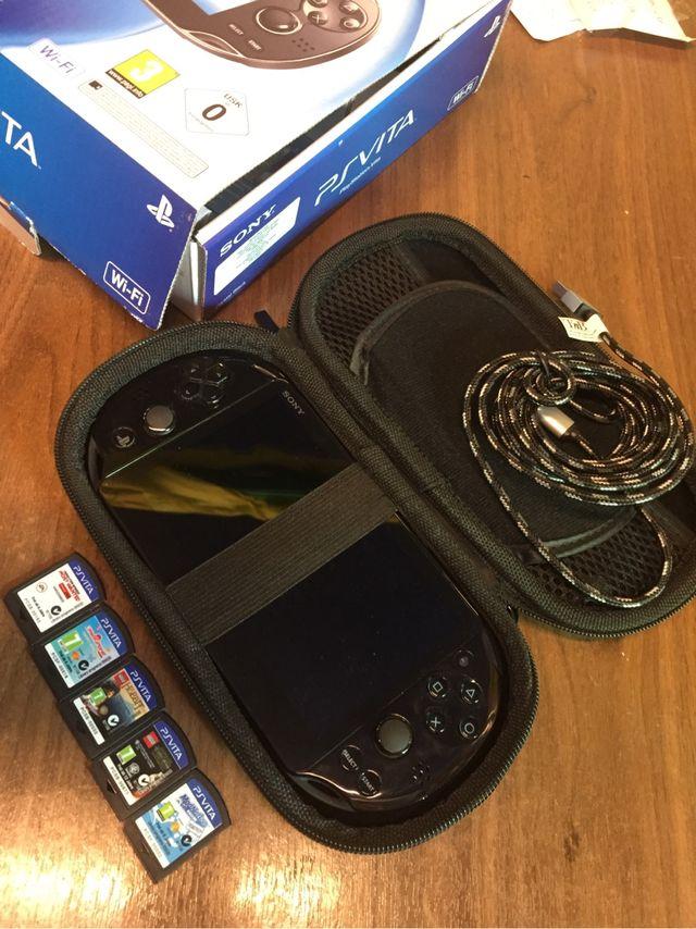 Ps Vita Wifi con juegos