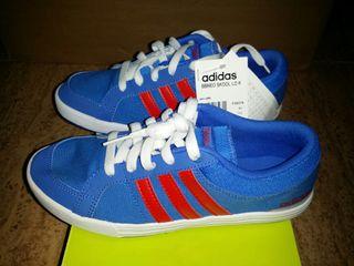 """Adidas bbneo """"lona"""" talla 38 2/3. Nuevas"""