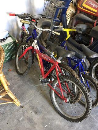 Vendo bicicleta niño