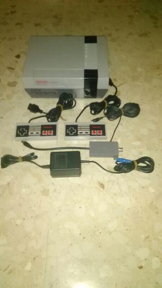 Nintendo Entertainement System ( NES ) pal España ( NESE-001 ) 1987