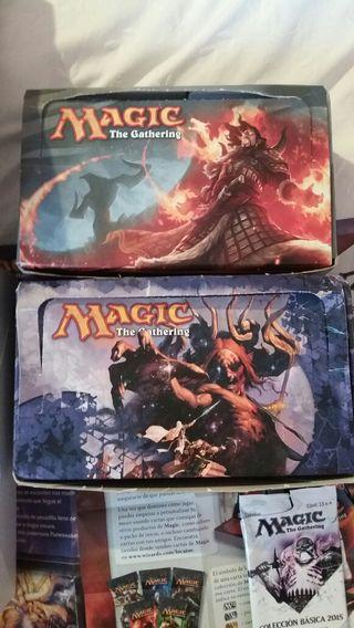 1100 cartas Magic the Gathering (2 cajas+baraja)