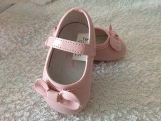 Zapato bebe rosa talla15