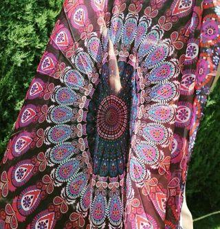 Pañuelo/fular/pareo Mandala redondo nuevo