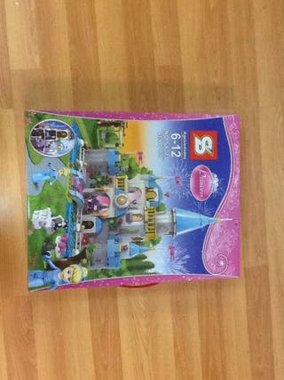 Castillo Princesa Cenicienta Compatible Lego