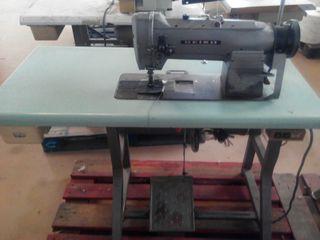 Maquina de coser seiko doble aguja