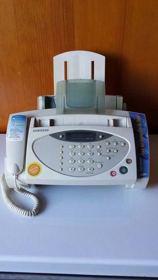 Fax de inyección de tinta