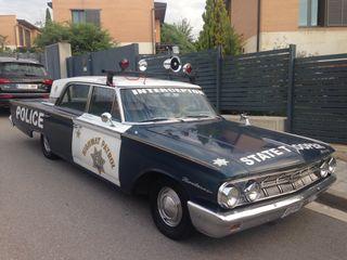 Mercury monterey policia 1963