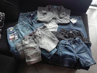Lote pantalones vaqueros