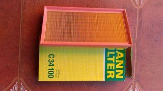 Filtro de aire MANN-FILTER C34100