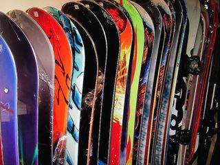 Tablas de snowboard