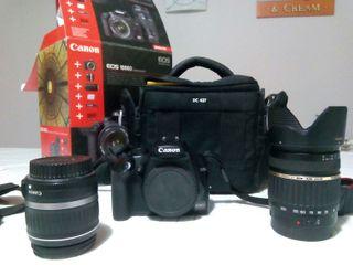 Canon eos 1000d 18-200