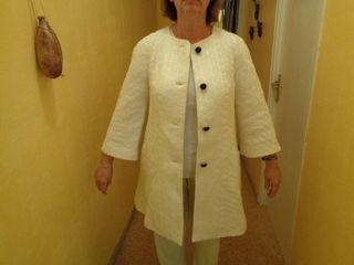Abrigo Color Blanco