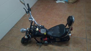 Moto de gasolina chopper