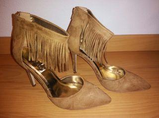 Zapato ante camel 39 NUEVO