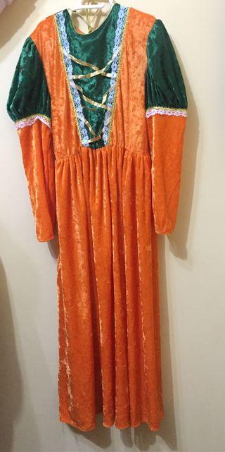 Disfraz mujer medieval 10-12 años