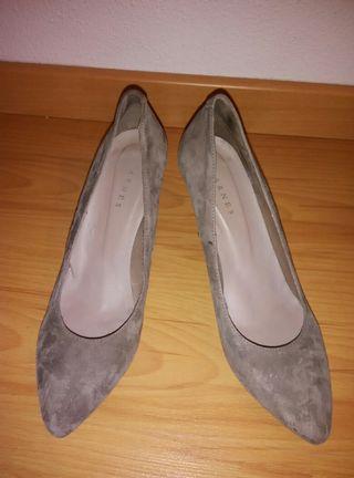 Zapato ante marrón de Arnés 40