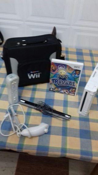 Wii blanca y accesorios