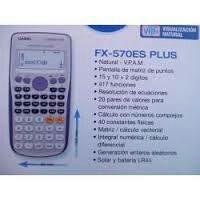 Calculadora cientifica FX 570 ES
