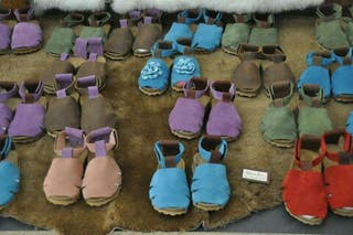 Sandalias artesanales a estrenar