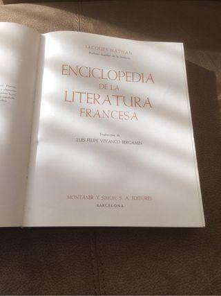 Enciclopedia de la Literatura Francesa